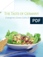 The Taste of Germany - Contemporary German Cuisine for All Seasons