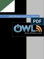 OWL Lock User Manual
