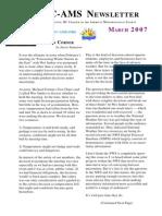 FebMar07Newsletter