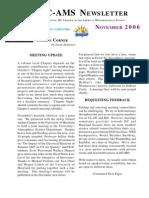 Nov06Newsletter