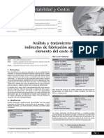 Analisis y Tratamiento de Los CIF Aplicados a Costos Dep Roduccion