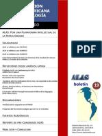 BoletinALAS 19 – Abril de 2013