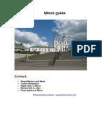 Minsk Guide