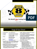 Stage 8 Locking Fasterners Corporate Background Presentation