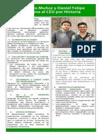 Alejandro y Felipe Al CEU Historia PDF