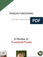 PANGAN FUNGSIONA-BAYUL