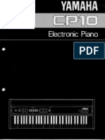 Técnico - Piano Eléctrico Yamaha CP10 - Manual Del Usuario - 01