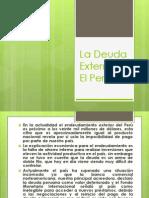 La Deuda Externa en El Perú