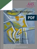 Revista Horizontes Sociológicos AÑO 1 / NÚMERO 1 / ENERO-JUNIO DE 2013