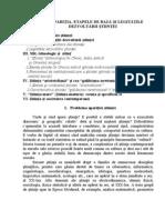 Tema 2. APARIŢIA, ETAPELE DE BAZĂ ŞI LEGITĂŢILE DEZVOLTĂRII ŞTIINŢEI