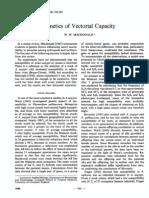 Genetics of Vectorial Capacity