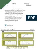 Texas Quarterly Housing Report