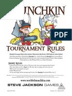 Munchkin Tournament Rules