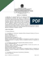 Edital Santa Catarina 2014