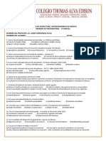 Examen de Estructura Socioeconomica de Mexico