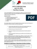 Leadership Camp Registration Package