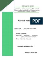 Module 04_Sécurité et Qualité_TSET_ISTA Transport_Fr.KAMMAS Said