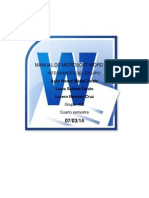 Manual de Microsoft Word 2010 .PDF.
