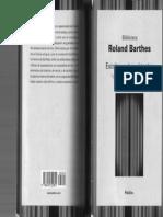 R. Barthes, Escritos Osbre Teatro