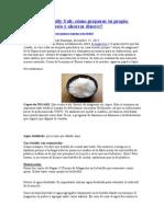 Aceite de Nigari Cloruro de Magnesio