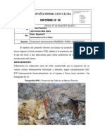 INFORME N°05 - INRESO TUNEL CARRETERO 4700