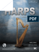 Garritan Harps Manual