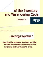 Materi Lab 6 - Audit of the Inventory and Warehousing Cycle