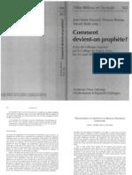 Prolegomena to the Study of Biblical Prophetic Literature