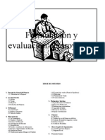 Formulacion y Elaboracion de Proyectos