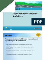 5 Tipos de Revestimentos Asfalticos CAP 4
