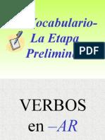 LOS VERBOS Flashcards