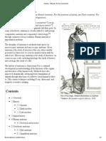 Anatomy - Wikipedia, The Free Encyclopedia