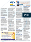 Pharmacy Daily for Tue 06 May 2014 - 600 more pharmacists, Polypills boost adherence, Strong audit reaction, New PDL director and much more