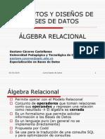 Algebra Relacional I BDI