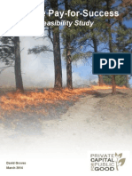 Wildfire Pay-for-Success Feasibility Study