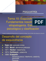 Tema 10 Psiquiatria