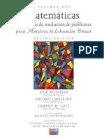 Matemáticas- Un Enfoque de Resolución de Problemas Para Maestros de Educación Básica. Volumen Dos. - Índice y Presentación