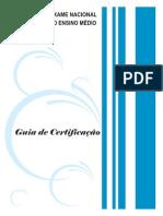 Guia Certificacao Enem 2012