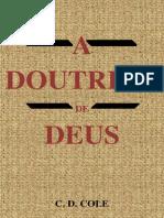 A Doutrina de Deus - C. D. Cole