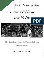 PR 14 - Principios de Fundar Iglesias - M