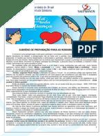 Subsídio de Preparação Romarias Jovens 2014