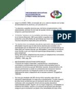 Alumnos Con Necesidades Educativas Especiales Por Carlos Fredy Perez
