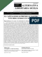 Alternativa Libertaria Sicilia - Settembre 2009