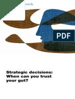 23. 2010, Mckinsey Quarterly, Strategic Decisions