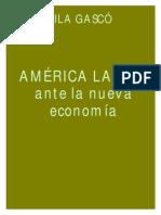 Gascó, Mila - América Latina ante la nueva economía