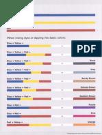 Color Mix Chart