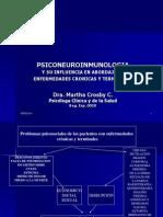 La PSICONEUROINMUNOLOGIA y El Abordaje en en Fermedades Crònicas y Terminalesogía