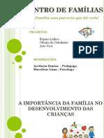 Encontro de Famílias Cras Pi 17.07.2013 PDF