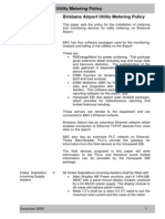 Airport Utilities Metering Policy Combined
