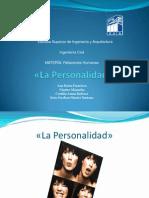 Tipos de Personalidad. 1.1